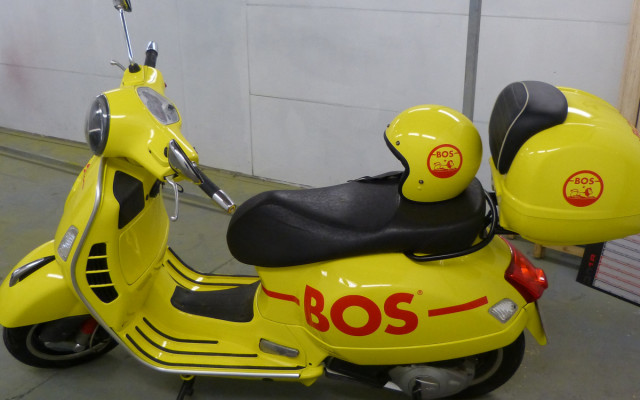 PEINTURE SCOOTER - BOS