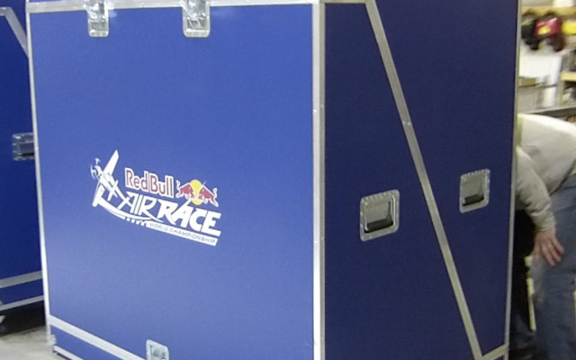 FLIGHT CASE - RED BULL